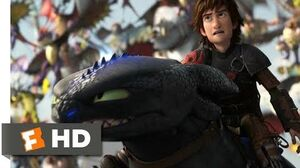 How to Train Your Dragon 2 (2014) - Toothless vs