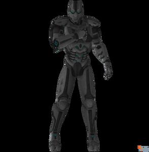 Mortal kombat 9 cyber ninja unit lk 4d4 by ogloc069-d7ebhnq