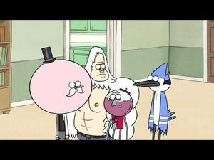 Regular Show - Rigby Becomes A House