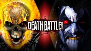 Ghost Rider VS Lobo (Marvel VS DC) DEATH BATTLE!