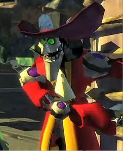 Robot Captain Hook