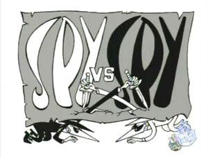 Spy vs. Spy Flag Logo