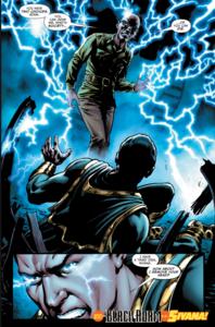 Black Adam vs Sivana