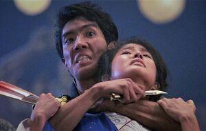 Chozen blackmails Kumiko