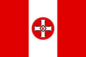 Flag of the ku klux klan by dutchatlantic13-dansibh