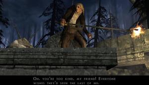 Igor confronts video game