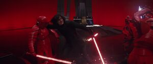 Kylo vs. the guards