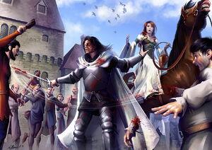 Mathia Arkoniel the riot