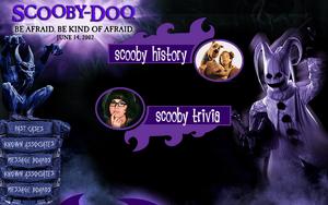 Scooby Doo website 2002