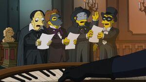 The Simpsons Phantom of the Opera