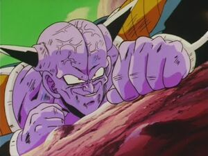 Vegeta vs Ginyu! Taunting -Japanese Episode 74-