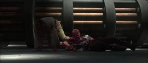 Anakin Skywalker getting-up