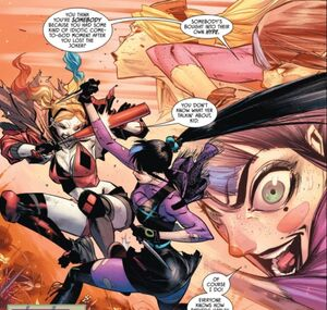 Harley Quinn and Punchline Prime Earth 07