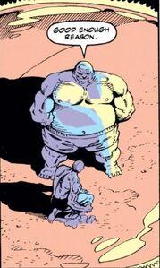 Johann Shmidt (Earth-616) and Wilson Fisk (Earth-616) from Captain America 378 0004