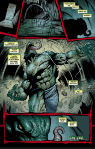 Killer Croc vow vengeance