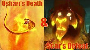 Lion Guard Scar and Ushari's death
