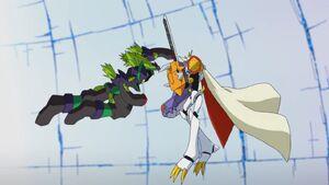 Mega Argomon vs Omnimon