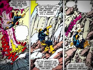 Terra massive display comic power
