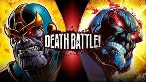 Thanos VS Darkseid (Marvel VS DC) DEATH BATTLE!