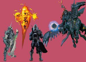 The Four Horsemen of Apocalypse