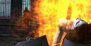 Aleera stabbed video game