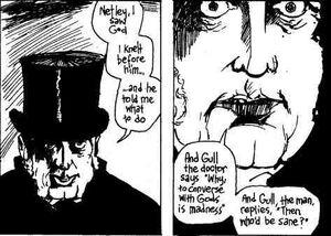 Gull Jack the Ripper comic
