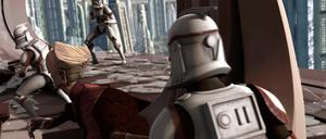 Chancellor Palpatine clone rescue