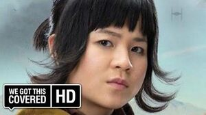 "STAR WARS THE LAST JEDI ""Rose Bites Hux's Finger"" Deleted Scene HD Kelly Marie Tran, John Boyega"
