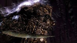 Dark Souls Gravelord Nito Boss Fight (4K 60fps)
