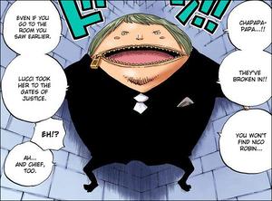 Fukuro in One Piece manga