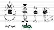 """Villainous"" Height Chart"