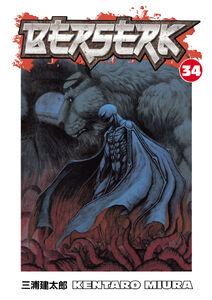 Berserk v34 Cover