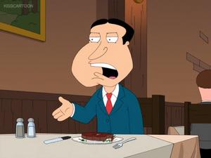 Quagmire Explains Why He Hates Brian