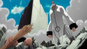 Ikkaku defeated by Poww