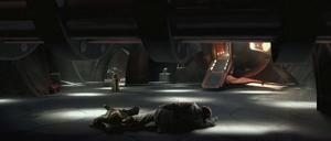 Anakin Skywalker Yoda column