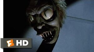 Beetlejuice (5 9) Movie CLIP - Scary Snake (1988) HD