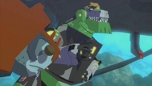 Grimlock & Octopunch