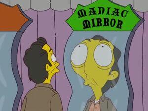 Maniac mirror simpsons