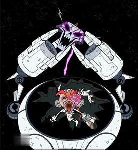 Skelemandarin recovers the Skeleton King's skull