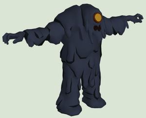 Tar Monster concept