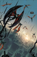 Edward Brock (Earth-616 ) and Venom (Klyntar) (Earth-616) from King in Black Vol 1 5 001