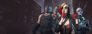 Harley Quinn, Bane and Mr. Freeze (Telltale)