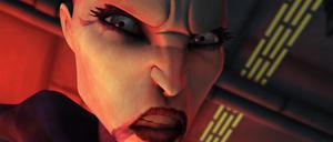 Asajj close-up rage