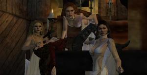 Brides of Dracula Anna game