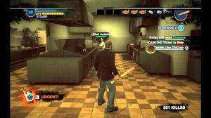 Dead Rising 2 - Antoine Thomas cutscene fight (chef)