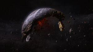 Graviton Destroyed Earth Alt Future