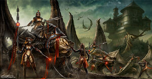 Rancor dragons by cgfelker-d5v77ay
