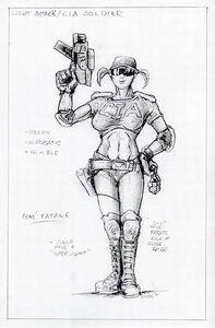 Cia female soldier