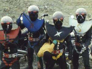 Hakaider Squad with Akira