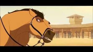 Spirit the stallion of Cimarron - Spirit VS Colonel + Escape